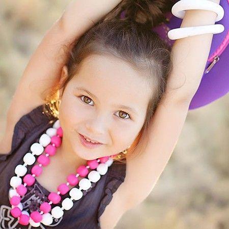 http://www.ruggabub.com.au/for-mum/jsd-princess-the-pea-necklace/ Jellystone Designs Princess & the Pea Necklace silicone necklaces are the ultimate fashion accessory.