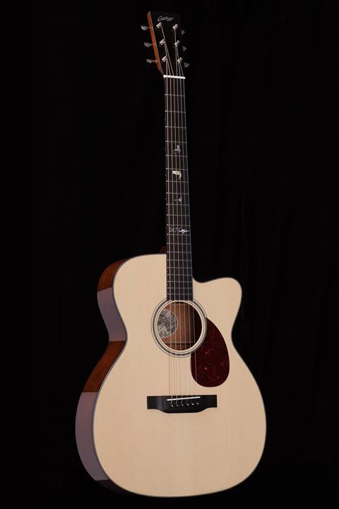 Our new 2017 Pete Huttlinger Signature OM!