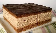 Výborný čokoládový zákusek 3 ksvejce 250 gmoučkový cukr 2 lžícekakao 70 mlolej 30 mlmléko 350 gpolohrubá mouka 1 bal.prášek do pečiva Krém: 700 mlsmetana ke šlehání 70 gkr. cukr 150 gtmavá čokoláda 1 lžičkavanilkový extrakt 1 lžícerum Vrch: 150 gtmavá čokoláda 2 lžíceolej