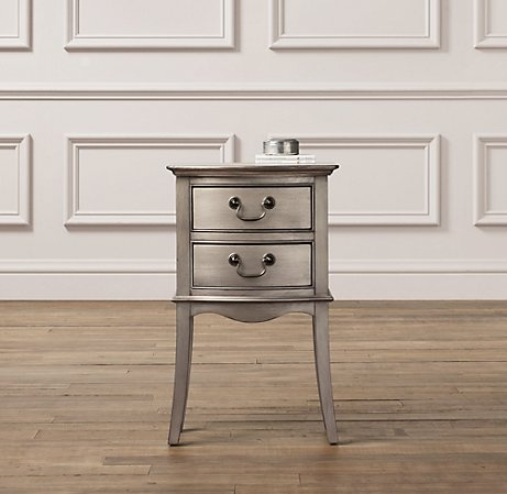 14 best furniture for the house images on pinterest for Restoration hardware bedside tables