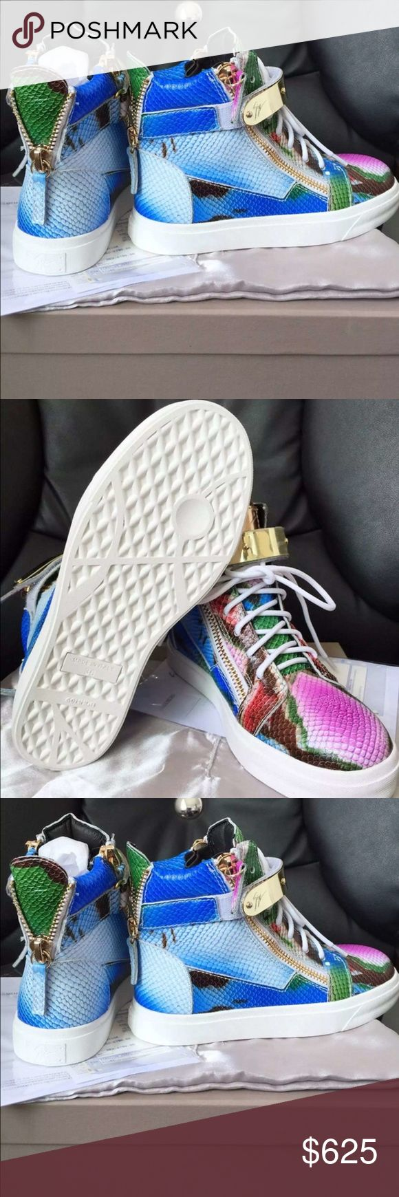 Authentic Giuseppe Zanotti Men Shoes(with receipt. Giuseppe Zanotti Men Shoes(with receipt) hottest shoe I have in stock right now Giuseppe Zanotti Shoes Platforms