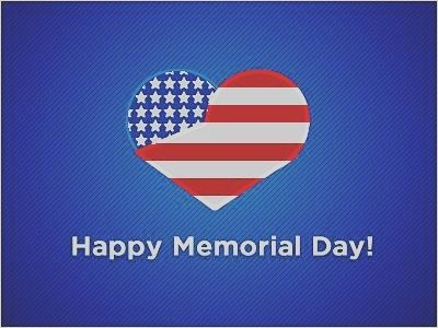 Happy Memorial Day to my US neighbours!!