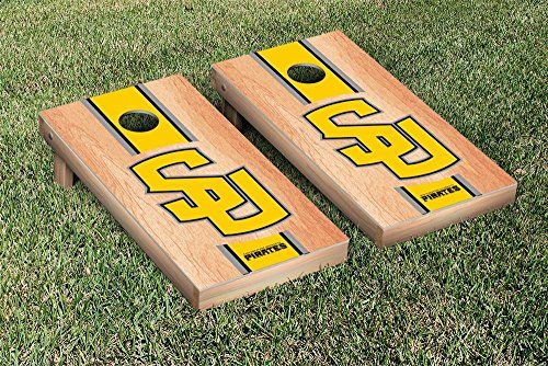 Southwestern University Pirates Cornhole Game Set Hardcourt Stripe Version ** Be sure to check out this awesome product.