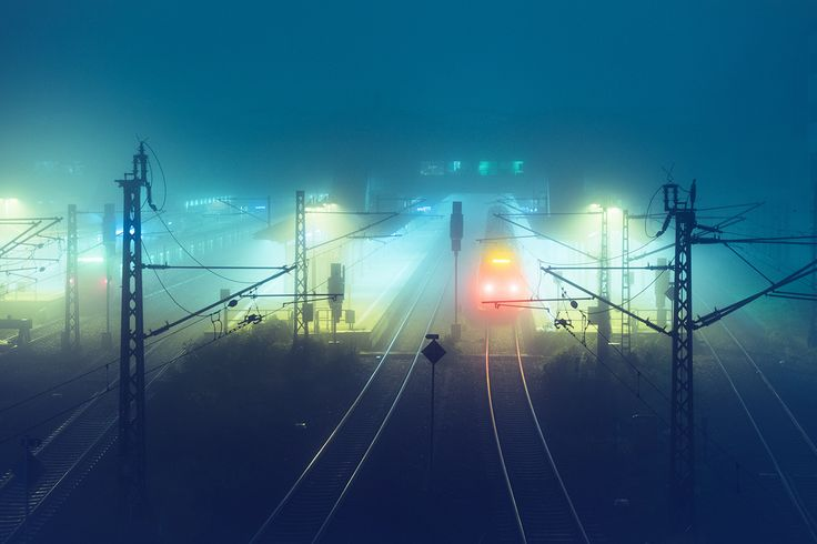 Andreas Levers Kaléidoscope Pinterest Photography - City streets glow in eerie night time photographs by andreas levers