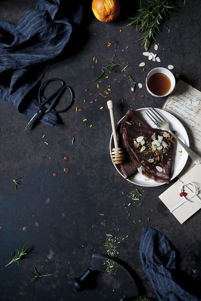 A Matter Of Rhythm: Slow Breakfast With Chestnut Flour Crepes Flavoured With Rosemary, Chestnut Honey, Orange Peel And Almonds - The Freaky Table