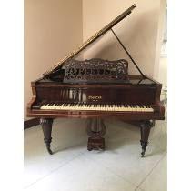 Piano Meia Cauda Marca Pleyel - Antiguidade                                                                                                                                                                                 Mais