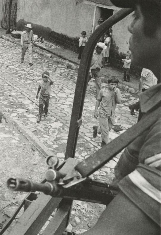 Salvadoran Civil War.