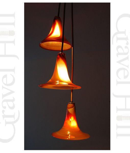 Hand blown glass pendant http://gravelhilllighting.com/product/autumn-trio-hand-blown-glass-pendant/?utm_content=buffera2d17&utm_medium=social&utm_source=pinterest.com&utm_campaign=buffer #lighting #seasonlighting #lights #oneoff