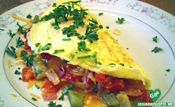 Gemüse Omelett :http://gesunderezepte.me/gemuese-omelett/