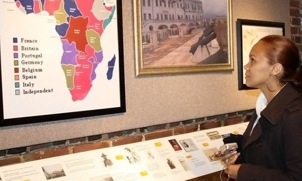 African-American history museum with a focus on America's black community and their contributions to the nation and the world