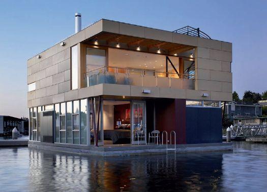 casa galleggiante americana