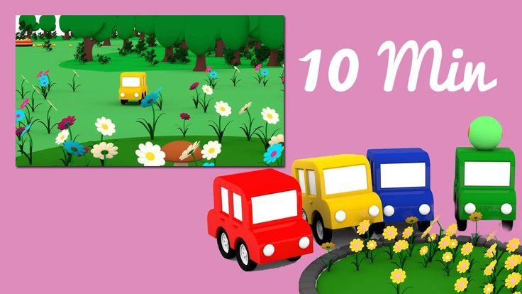 Speciale festa della mamma ❤️ - le macchine colorate e i fiori! 💐 🌷 | ca...