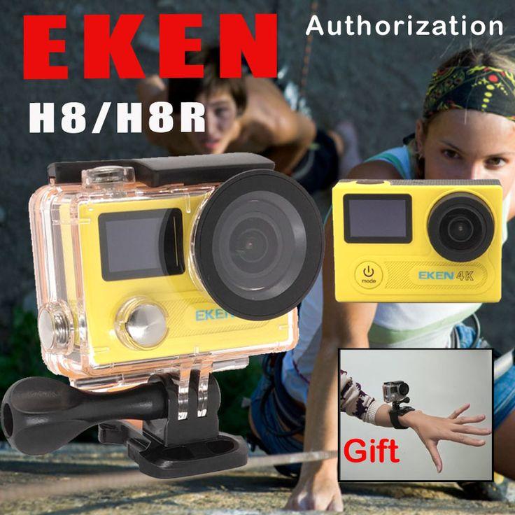 EKEN H8 / H8R Ultra HD 4K WIFI Action Camera 1080p/60fps 720P/120FPS Mini Cam 30M Waterproof Helmet Sport DVR Go Extreme Pro Cam  US $64-107