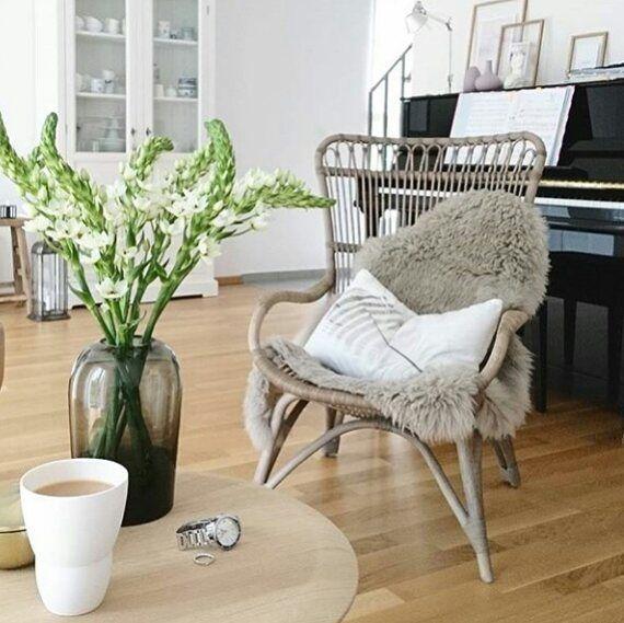 "138 Likes, 2 Comments - @sikadesign on Instagram: ""A lovely coffee break • Regram: @herz.allerliebst #sikadesign #handmade #furniture #chair…"""