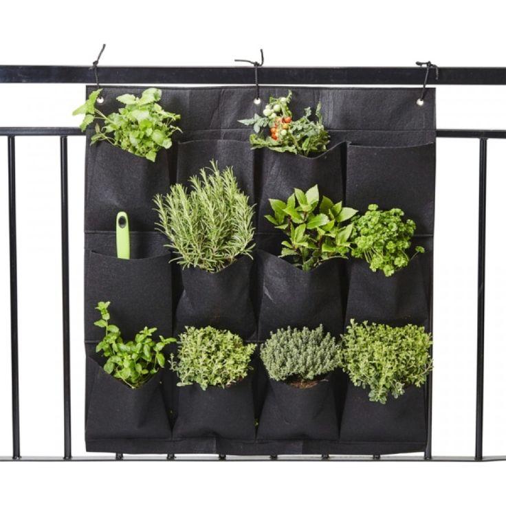 Praktisk oppheng til f.eks. terrassen i str.85x79 cm for potteplanter, krydder og tilbehør. ...