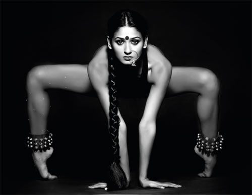 from Dance India Dance 2 winner Shakti Mohan's 2012 calendar: Nritya Shakti (Power of Dance, Shakti also denotes Women Power)
