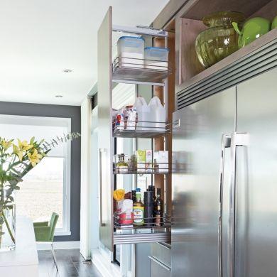 Armoire coulissante - Cuisine - Inspirations - Décoration et rénovation - Pratico Pratiques