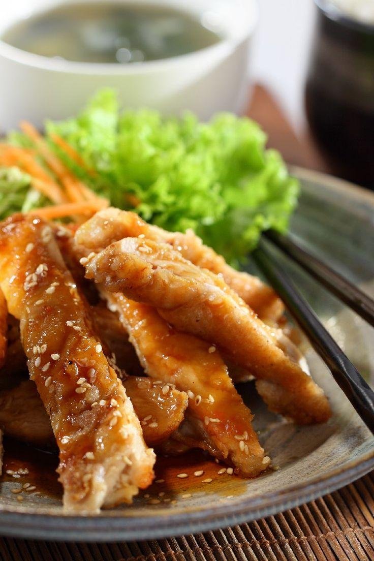 Teriyaki Sticky Chicken  (Ww 4 Points)   KitchMe