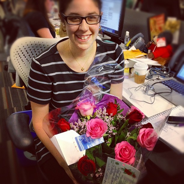 Happy birthday to @huffpostparents editor, @emustich! - @huffpostwomen- #webstagram