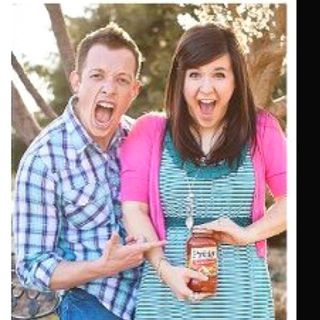 Very creative Pregnancy Announcment. so funny!