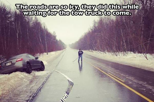 Meanwhile, in Canada...<<Canadians are awesome