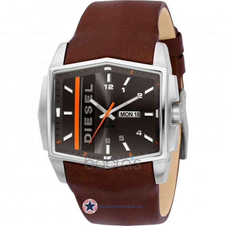 Men's Diesel Analog Brown Leather Watch-DZ1341 $165.00 #Diesel #Watches  #menswear #
