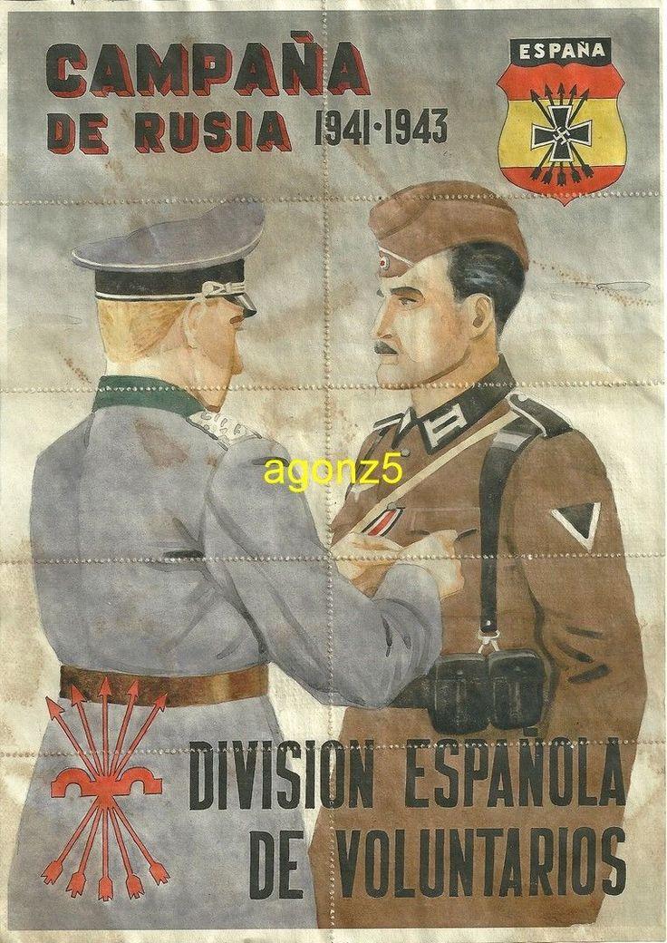 0622 DIVISION AZUL CAMPAÑA DE RUSIA BLANES-GERONA CUPONES DE RACIONAMIENTO   eBay