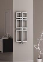 radiateur eau chaude en inox contemporain de salle de bain - Radiateur Eau Chaude Salle De Bain