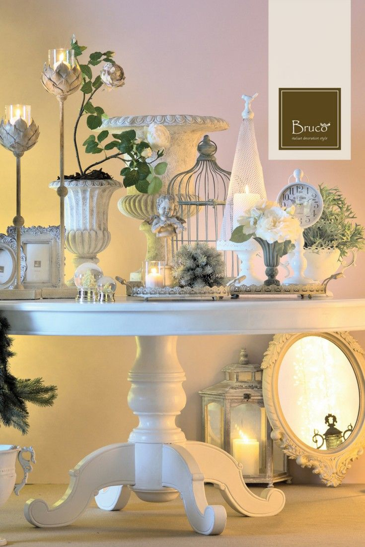 Tavolo decorato #brucostyle #italianstyle #decoration