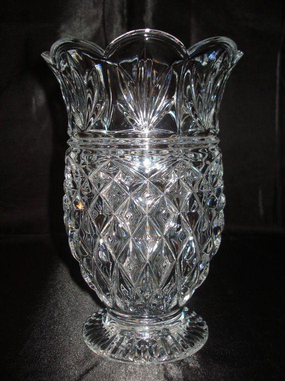 vintage baccarat crystal aubagne vase 6 lbs cristal pinterest vintage vase and crystals. Black Bedroom Furniture Sets. Home Design Ideas