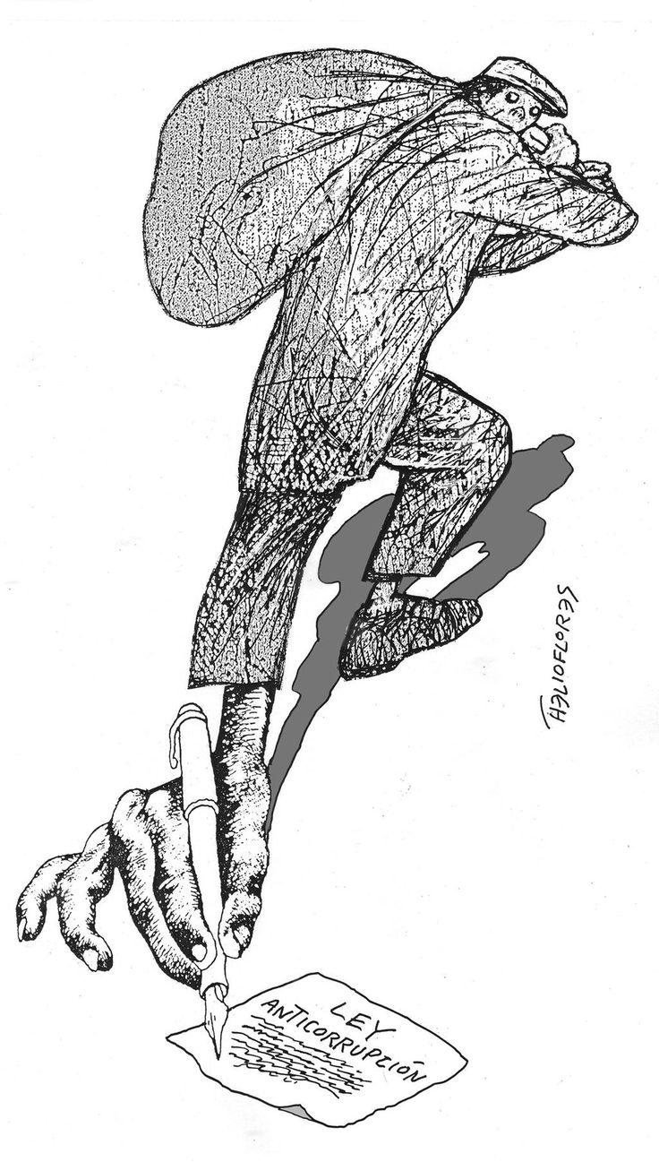 ABAJO FIRMANTE Novedad: los corruptos lanzan con bombo y platillo una Ley Anticorrupción. No es retroactiva. Aplausos