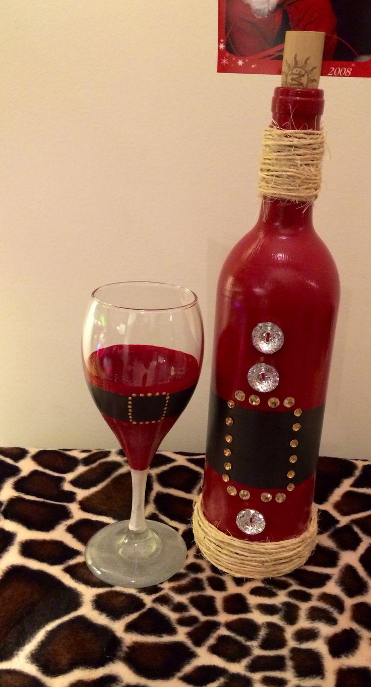 184 best diy wine bottle crafts images on pinterest for Wine bottle glasses diy
