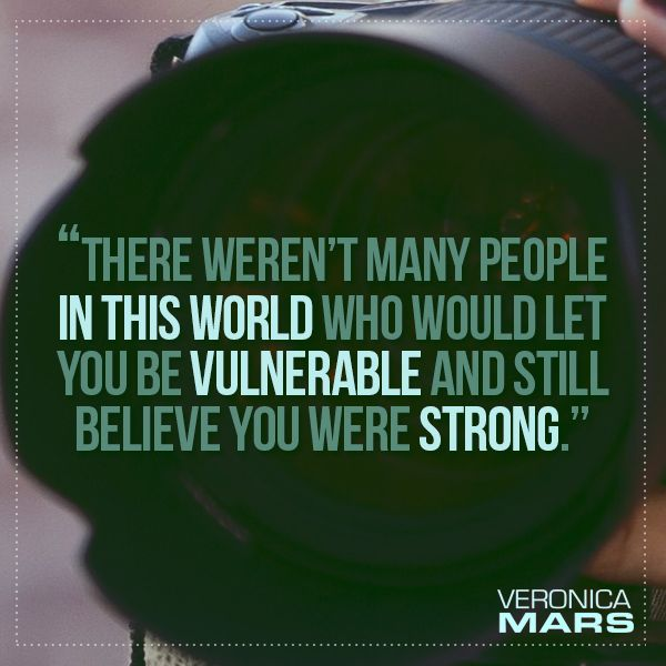Veronica Mars: The Thousand Dollar Tan Line - perfect quote about Wallace