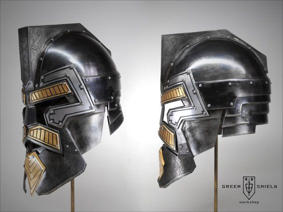 Dwarven Captains helmet