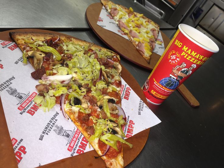 Which #BMPP specialty slice would you choose? Aro Slice on the bottom or our Hawaiian Slice up top.  https://ordernow.bigmamaspizza.com