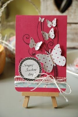 teachers day card ideas pinterest - Google Search