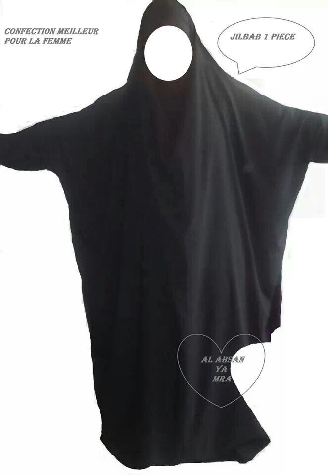 Jilbab one piece