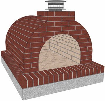 Mattone Barile | Instructions and Materials List for Wood Fired Pizza Oven Foam Form made with Firebricks by BrickWood Ovens