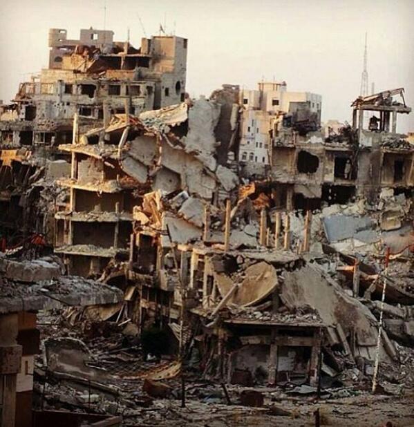 homs syria - devastation 12/13