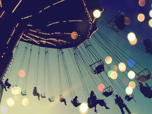 Gorgeous #swing #carousel #kettenkarussel