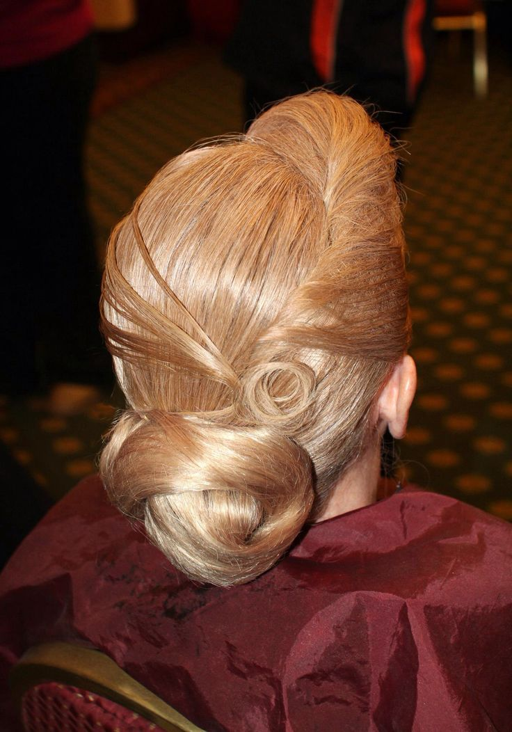 ballroom hair (might be okay for latin too)