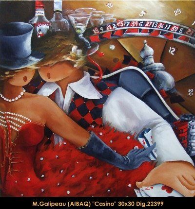 Marc Galipeau original acrylic painting on canevas #marcgalipeau #art #acrylicpainting #originalpainting #fineart #canadianartist #quebecartist #casino #multiart #balcondart