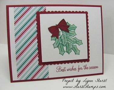 Holly Berry Happiness by starzlmom28 - Cards and Paper Crafts at Splitcoaststampers