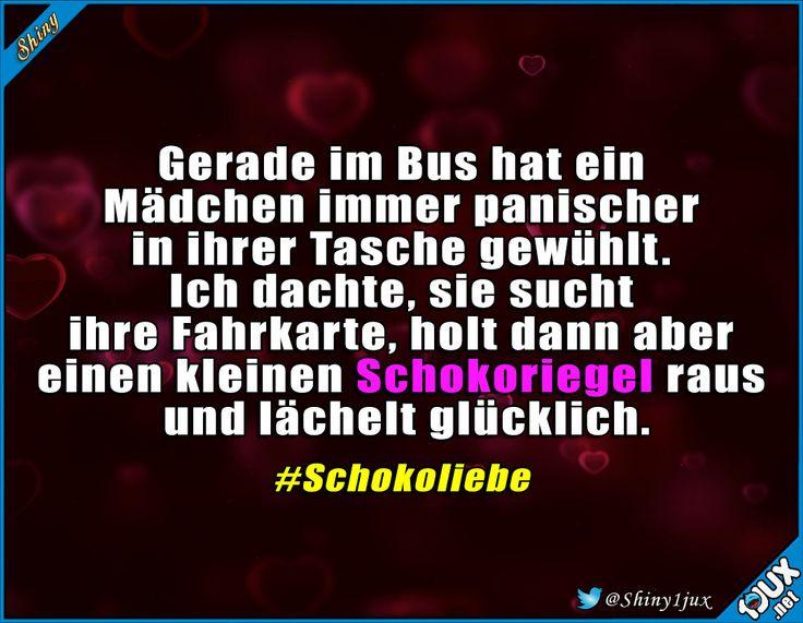 Das Wichtigste hat sie dabei :) #Schokolade #Schoko #Schokoliebe #Humor #Memes