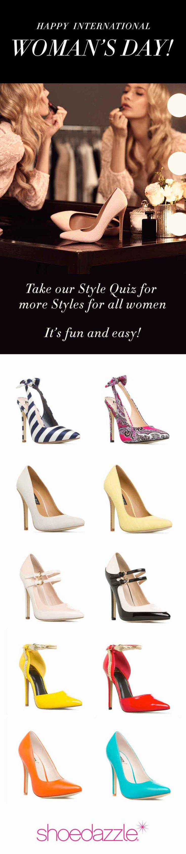 SHOEDAZZLE EXCLUSIVE VIP OFFER - $10 shoes! Limited Time Only, ends 5/31/2016. As a VIP, you'll enjoy a new boutique of personalized styles each month, as well as exclusive pricing and free shipping on orders over $49. Don't think you'll need something new every month? No problem – just click 'Skip The Month' in your account by the 5th and you won't be charged. But this deal won't last forever! Take the Style Profile Quiz today to get this exclusive offer.