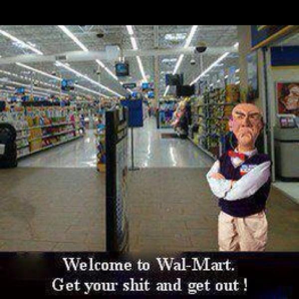 Look who works at Walmart!  Love Walter...Walter Quotes, Aka Walmart, Walmart Greeter, Funny Stuff, Humor, Things, Enjoy Laugh, Jeff Dunham, Black Friday