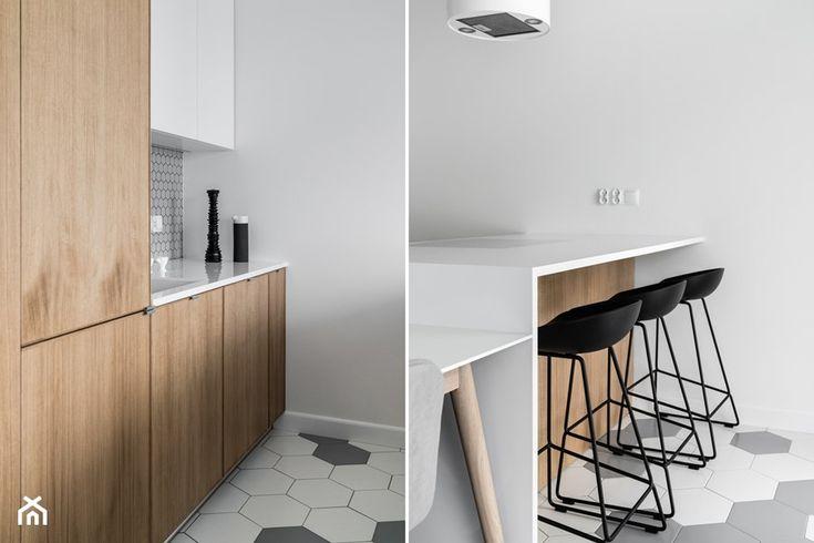 Nowe Orłowo 7 - Kuchnia, styl nowoczesny - zdjęcie od Anna Maria Sokołowska Architektura Wnętrz (dawniej Pracownia Projektowa Dragon Art ) - homebook