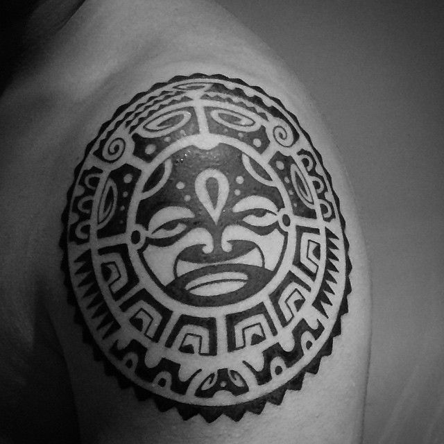10 best aztec tattoos images on pinterest tattoo ideas aztec tattoo designs and best tribal. Black Bedroom Furniture Sets. Home Design Ideas