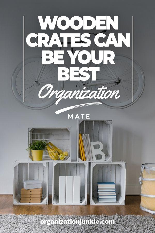 Holzkisten und wie sie Ihr bester Organisationskamerad sein können   – Organization Junkie