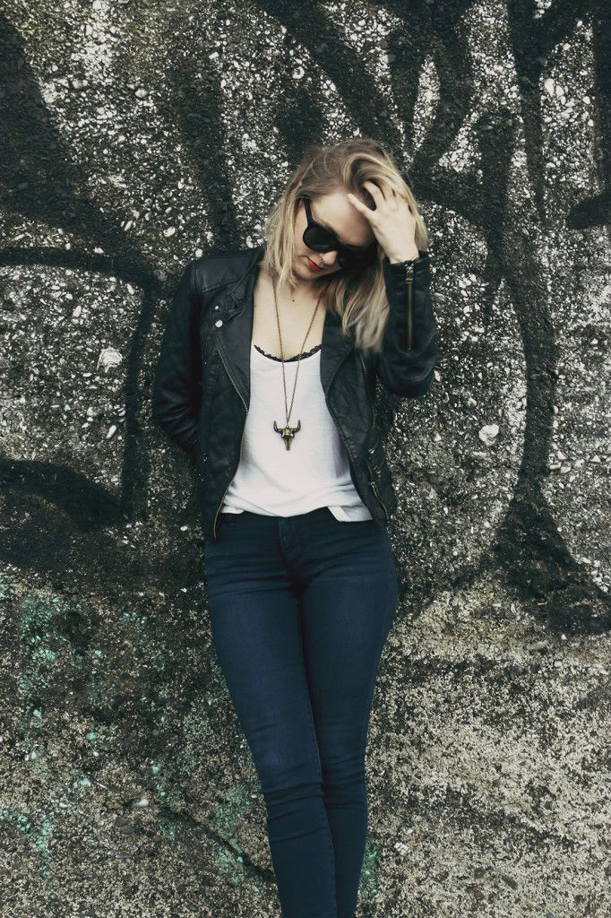 Denim, Leather and Finding New Things | www.rosiemay.co.nz